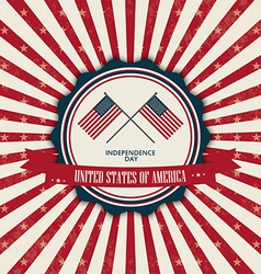 Abstract independence day background with special vector