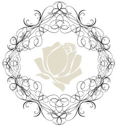 Antique Frame ornaments 2 vector