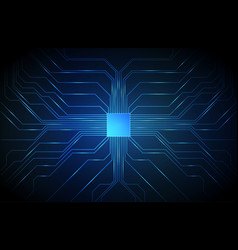 Circuit board background technology cpu vector