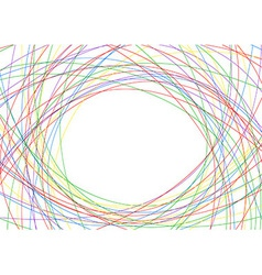 Colorful lines - bright advertisement background vector image