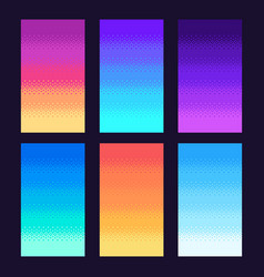 dithering pixels background old retro video game vector image