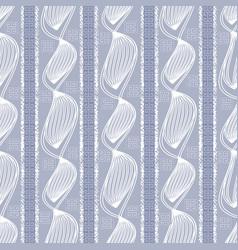 geometric striped seamless pattern vector image