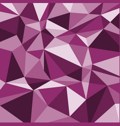 pink polygon abstract triangle background vector image