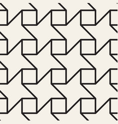 Seamless lattice pattern modern thin lines vector