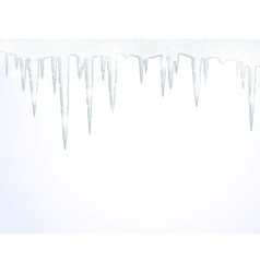 The icicles vector
