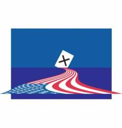 vote 2008 vector image vector image