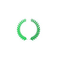 Wreath icon vector