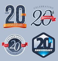 20 Years Anniversary Logo vector