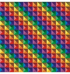 Abstract color geometric mosaic background vector image