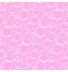 Circles abstract seamless pattern vector image