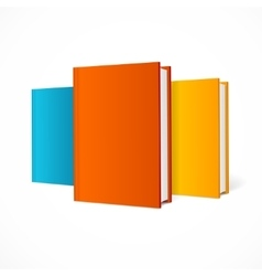 Color Book Set vector image