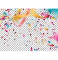 Colorful confetti EPS 10 vector