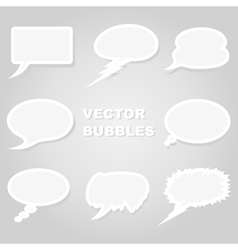 Conversation cloud vector