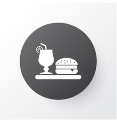 dinner icon symbol premium quality isolated vector image