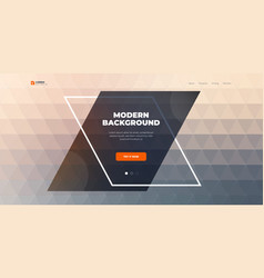 geometric abstract gradient background design vector image