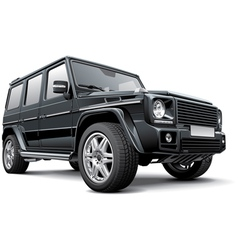 Germany full size suv vector
