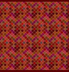 Seamless dark abstract diagonal square pattern vector