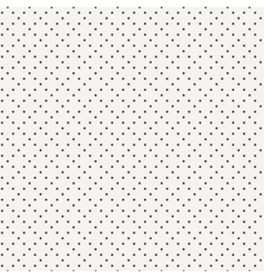seamless geometric pattern of dots vector image