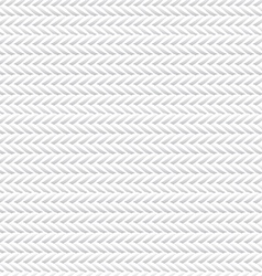 Seamless White Rope Texture vector image vector image