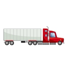 Truck icon cartoon style vector