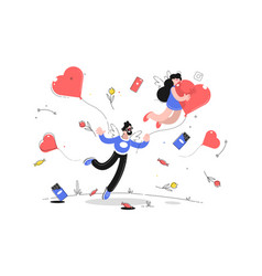 valentines day and love vector image