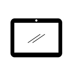 tablet device isolated icon vector image
