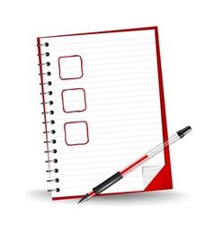 A checklist vector