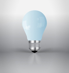A light bulb vector