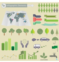 Ecological Infographics vector image