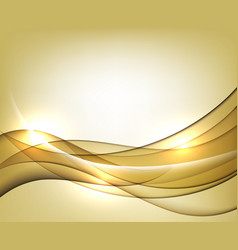 Gold template abstract background vector