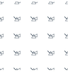 Intersection icon pattern seamless white vector