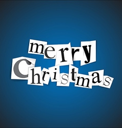 Merry Christmas - vector image