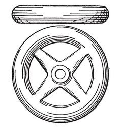 Wheel shading extension color wheel vector