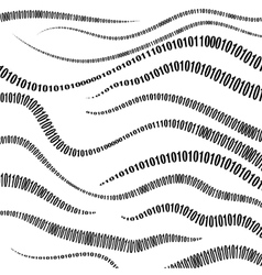 Binary code algorithm decryption and encoding vector