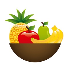 fruits design vector image vector image