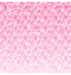 abstract geometric triangle pattern mosaic on vector image vector image