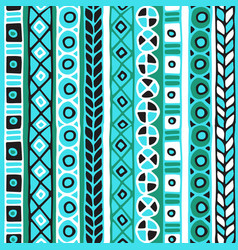 Colored seamless pattern of stripes vector