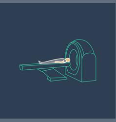 Ct scanner machine icon symbol vector