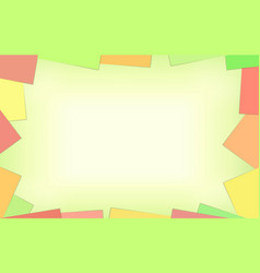 empty place background with paper vector image