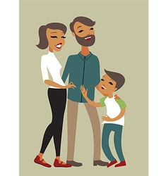 Family series vector image