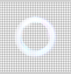 Glowing light circle vector