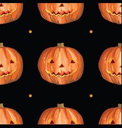 halloween seamless pattern 4 vector image