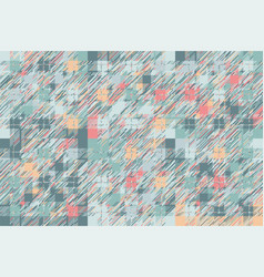 modern glitch background color geometric abstract vector image