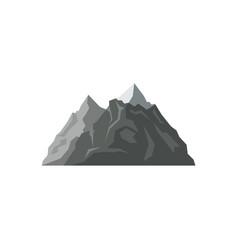 Mountain range isolated vector