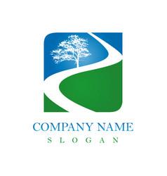 road logo vector image