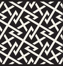 Seamless pattern modern abstract lattice design vector