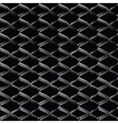 Steel mesh seamless wire background vector