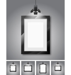 Studio wall vector image