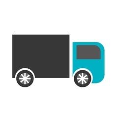 Transportation truck design over opalized vector