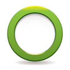 Circle icon vector image vector image